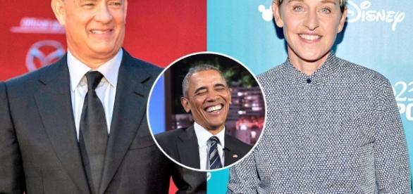 Barack Obama Names Tom Hanks, Ellen DeGeneres and More ... - eonline.com