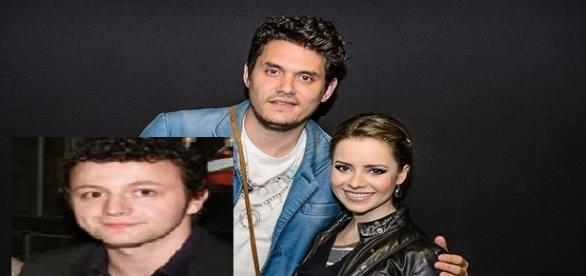 Foto montagem: Sandy, John Mayer e Lucas
