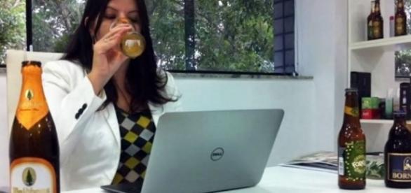 Já imaginou poder beber no local de trabalho?