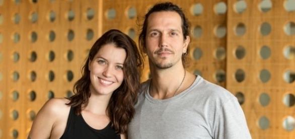 Nathalia Dill e Vladimir Brichta (Foto: Televisa)