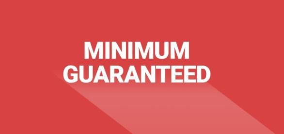 New minimum guaranteed payment of €25 per article