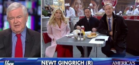 Newt Gingrich decoded many of Trump's puzzling comments in a NY Times interview. Screencap-Fox News