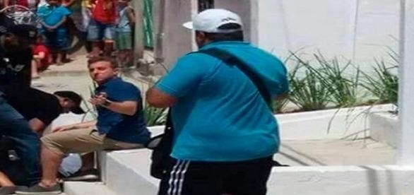 Quadro estava sendo gravado em Fortaleza (CE)