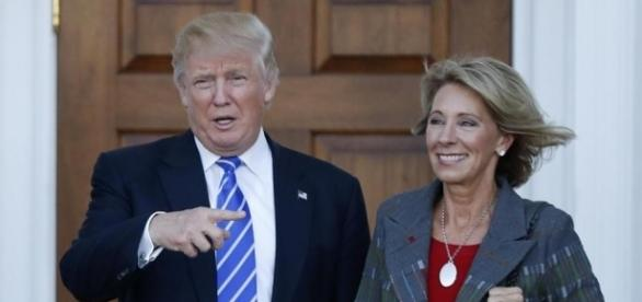 Trump selects charter school advocate Betsy DeVos for education ... - bostonglobe.com
