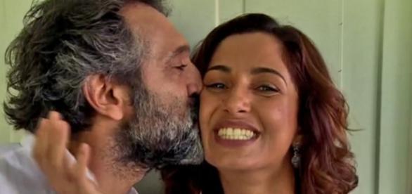 Camila Pitanga e Domingo - Google
