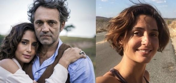 Camila Pitanga mostrou que está superando a dor (Foto: Globo/Instagram)