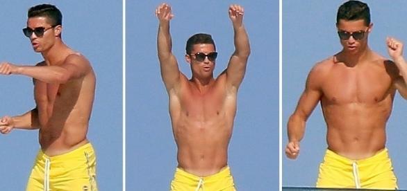 Cristiano Ronaldo teria usado a resposta irônica após provocação de outro jogador