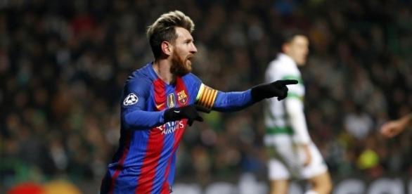 Leo Messi, clave en la victoria del FC Barcelona ante el Celtic
