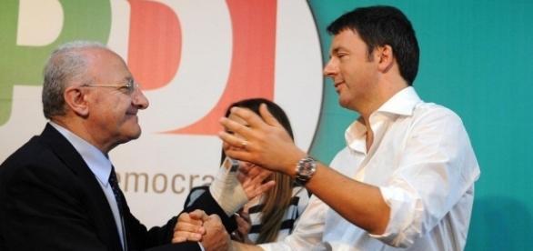 Patto d'acciaio tra Renzi e De Luca in vista del referendum costituzionale