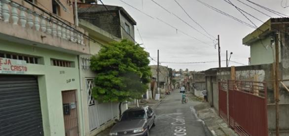 Rua José Carlos Monteiro, onde uma das vítimas foi morta