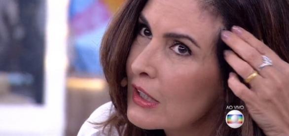 Fátima Bernardes já tentou travar a polêmica
