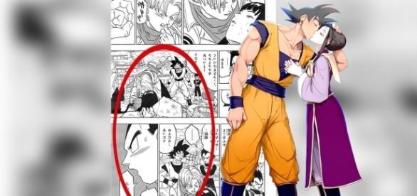 La traducción del décimo octavo manga confirmó que Goku nunca besó a Milk.