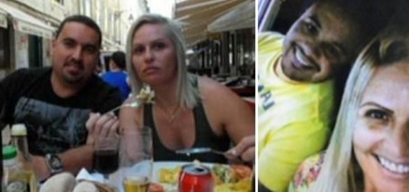 Na imagem a mulher com o homem morto, eles eram casados há 23 anos.