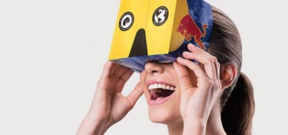 Óculos de realidade virtual da Red Bull vai levar você a viagens fantásticas