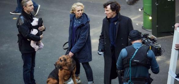 Sherlock y las nueva adiciones de la familia Watson