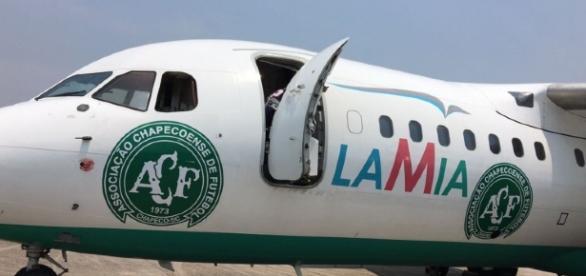 Avião da pode ter sofrido pane elétrica.