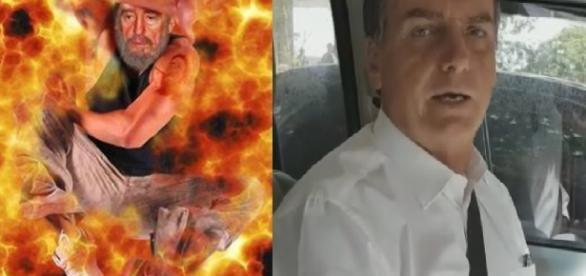 Bolsonaro diz que Fidel está no inferno