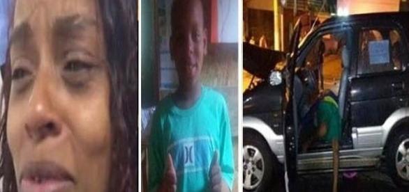 Mãe do menino de 10 anos acusado de roubo (foto: google imagens)