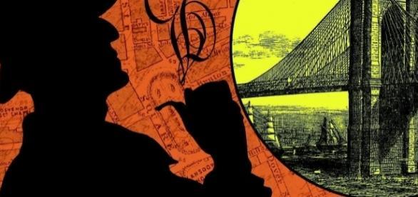 Novel cover for Counterfeit Detective....- TitanBooks.com