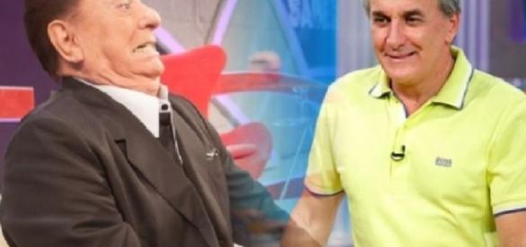 Raul Gil e Otávio Mesquita - Imagem/Google