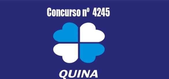 Resultado do concurso 4245 da Quina