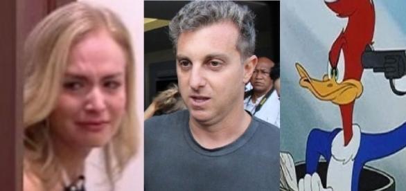Angélica estaria sendo ameaçada na Globo