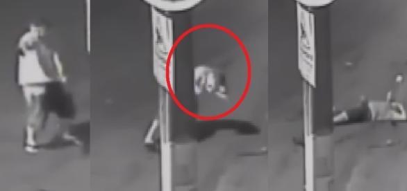 Bandido morre ao tentar atirar na PM
