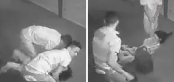 Bandidos levaram mais de um minuto para assaltar jovem