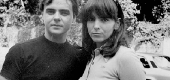 Cássio Gabus Mendes e Malu Mader: par romântico em Anos Rebeldes. Fonte: Memória Globo/1992