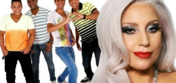 Molejo é citado por Lady Gaga - Google