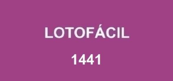 Resultado da Lotofácil 1441 divulgado pela Loterias Caixa