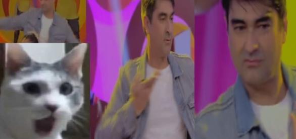 Zeca Camargo na Rede Globo dançando