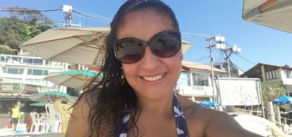 Andréa nunca foi trabalhar, mas recebia o salário de R$9,2 mil (Foto: Reprodução)