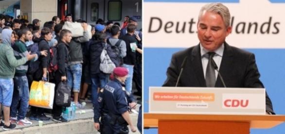 Ministrul German de Interne Thomas Strobl are un plan de deportare a 500.000 de refugiați în Egipt - Foto: Colaj Creative Commons