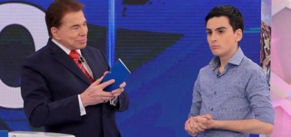 Silvio Santos e Dugdu Camargo - Google