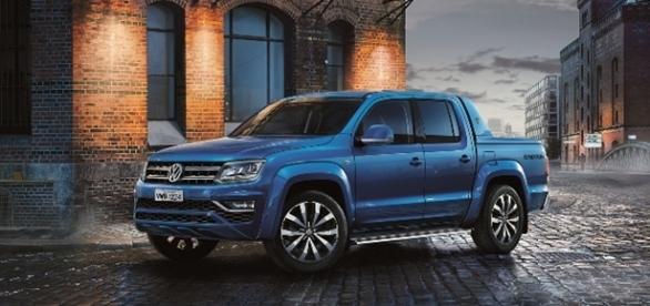 Volkswagen Amarok 2017 traz nova frente e interior totalmente redesenhado