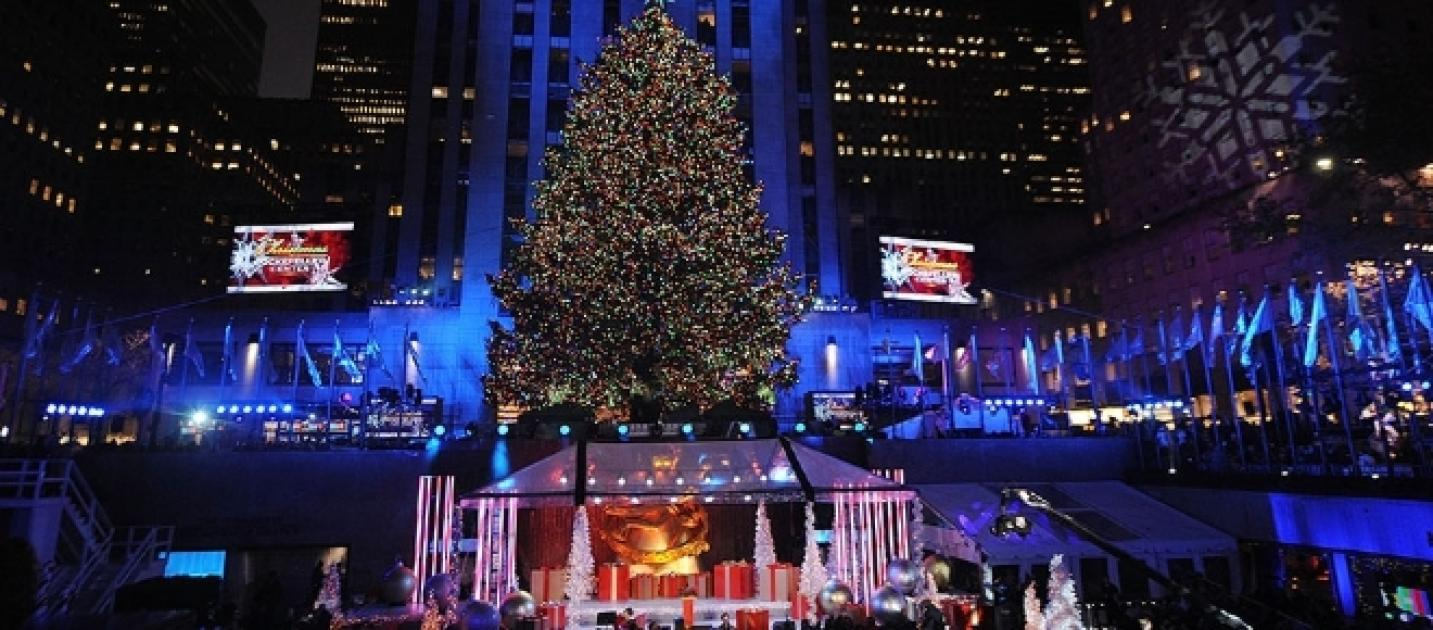 Watch nyc christmas tree lighting online mobile nbc tv for Weihnachtsbaum rockefeller center 2016