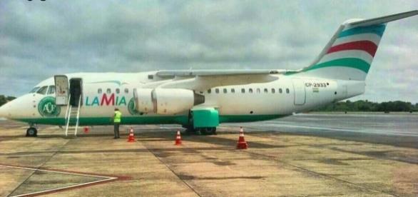 Aeronave da Lamia transportava ao todo 81 pessoas