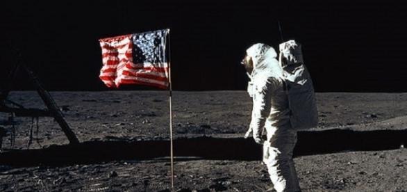 Buzz Aldrin on the moon (NASA)