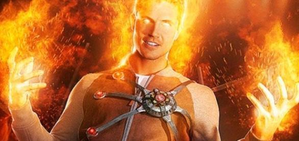 FireStorm original en The Flash.