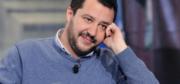 Matteo Salvini segretario federale Lega Nord e presidente Noi con Salvini