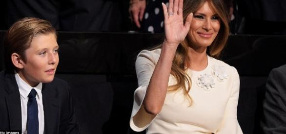 Melania Trumps threatened lawsuit against person who posted video - Photo: Blasting News Library - dailymail.co.uk