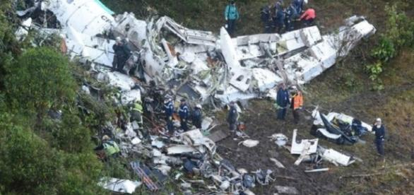 Plane crash in Colombia killed almost an entire soccer team / Photo via g1.globo.com