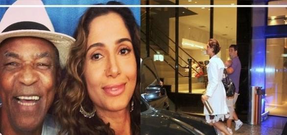 Camila Pitanga visita pai doente no hospital e surpreende a todos com a sua expressão