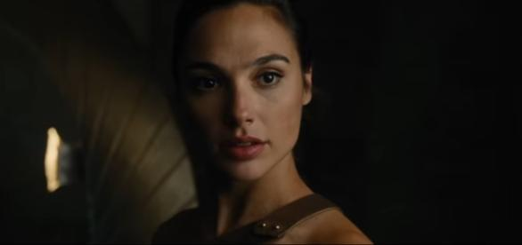 "Gal Gadot em cena de ""Wonder Woman"""