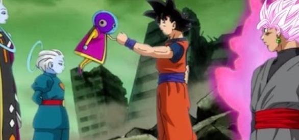 GOKU Y ZENO-CHAN DRAGON BALL SUPER