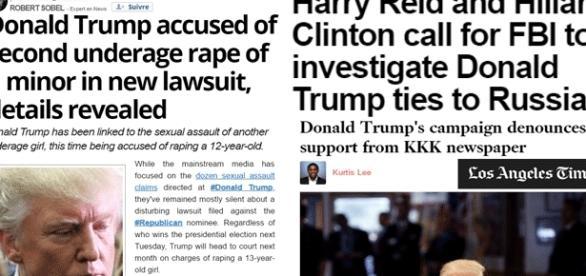 Le soutien total du Ku Klux Klan, soupçons de deux viols sur mineures de 12 et 13 ans, la coupe est pleine pour Donald Trump