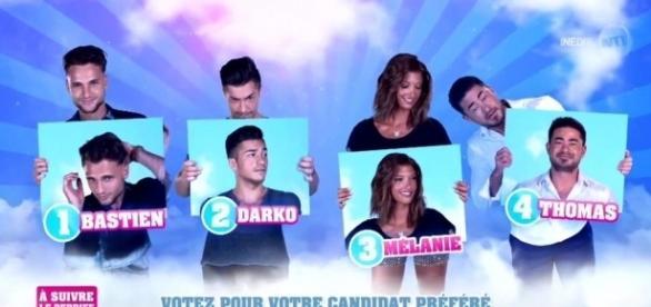 Qui de Bastien, Darko, Mélanie et Thomas quittera l'aventure ce soir ? (Capture NT1)
