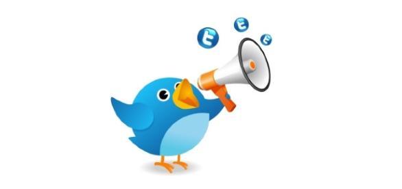 Releitura do passarinho Larry, símbolo do Twitter