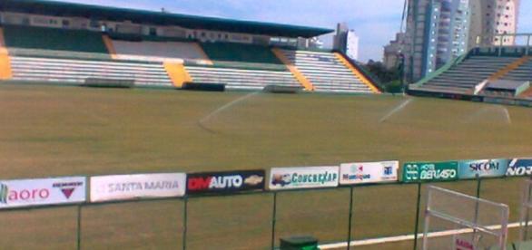 A Arena Condá é o estádio da Chapecoense (Foto: Wikimedia Commons)